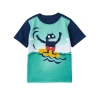 17G3-024 Gymboree Monster Waves Tee - 12-18 tháng