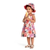 17G3-004 Gymboree Floral Dress - 3 tuổi