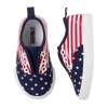 17S1-033 Gymboree Flag Sneakers - 18-24 tháng