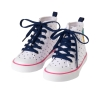 17S1-017 Gymboree Pineapple Sneakers - 7 tuổi