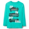 18S4-042 Crazy8 In My Grill Tee - 11-12 tuổi