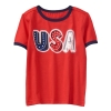 18O3-044 Gymboree USA Tee - 4 tuổi