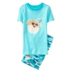 18O3-053 Gymboree Blowfish 2-Piece Shortie Pajamas - 4 tuổi
