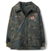18D3-020 Crazy8 Camo Patch Jacket - 7 tuổi