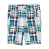 18D1-027 Crazy8 Patchwork Shorts - 2 tuổi