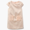 18D1-008 Gymboree Textured Metallic Dress - BÉ GÁI