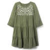 18D3-006 Crazy8 Embroidered Dress - 4 tuổi