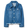 18D3-015 Crazy8 Frayed Denim Jacket - 13-14 tuổi