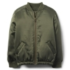 18D3-013 Crazy8 Satin Bomber Jacket - 13-14 tuổi