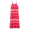 18D4-012 Gymboree Striped Maxi Dress - 13-14 tuổi