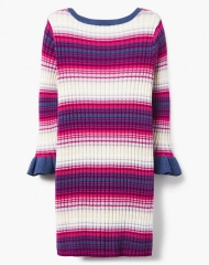 18D4-009 Gymboree Striped Ribbed Dress - HÀNG GIẢM GIÁ