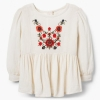 18D7-001 Gymboree Embroidered Peplum Top - 18-24 tháng