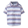 18D7-046 Gymboree Geo Stripe Shirt - 4 tuổi