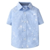 18D7-047 Gymboree Splatter Shirt - 4 tuổi