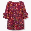 18D7-019 Gymboree Floral Dress - 2 tuổi