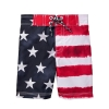 18D7-065 Gymboree Flag Swim Trunks - 5 tuổi
