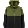 19M1-015 Carter's Colorblock Zip-Up Hoodie - 7 tuổi