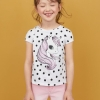 19M2-013 H&M Jersey Top with Printed Design - 2 tuổi