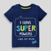 19M3-016 Matalan Super Powers Slogan T-Shirt - 6 tuổi