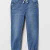 19A1-005 H&M Loose Fit Pull-on Jeans - 2 tuổi