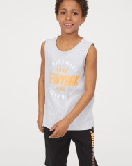19U1-014 H&M Tank Top and Shorts - 11-12 tuổi