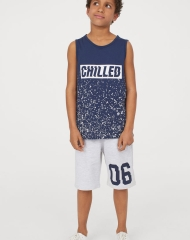 19U1-013 H&M Tank Top and Shorts - 11-12 tuổi