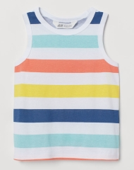 19U2-023 H&M Patterned Tank Top - 2 tuổi