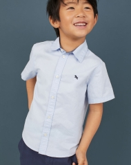 19U3-067 H&M Cotton Shirt - 7 tuổi