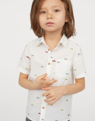 19U3-064 H&M Cotton Shirt - 7 tuổi