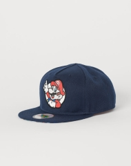 19U3-091 H&M Cap with Appliqué - 11-12 tuổi