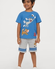19G2-027 H&M T-shirt and Shorts - 18-24 tháng