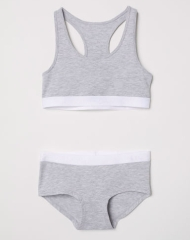 19N4-031 H&M Top and Boxer Briefs - 10-12 tuổi