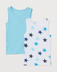20M3-100 H&M 2-pack Cotton Tank Tops - 6-8 tuổi