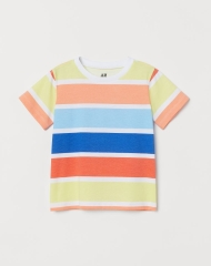 20M3-096 H&M Patterned T-shirt - 6-8 tuổi