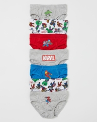 20M3-109 H&M 7-pack Boys' Briefs - 6-8 tuổi