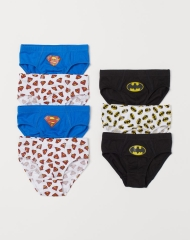 20M3-107 H&M 7-pack Boys' Briefs - 6-8 tuổi