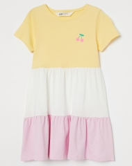20M3-020 H&M Cotton Jersey Dress - 7 tuổi